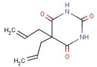 5,5-diallylbarbituric acid