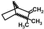 Camphene [C<sub>10</sub>H<sub>16</sub>]