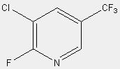 2-fluoro-3-chloro-5-(trifluoromethyl)pyridine 72537-17-8