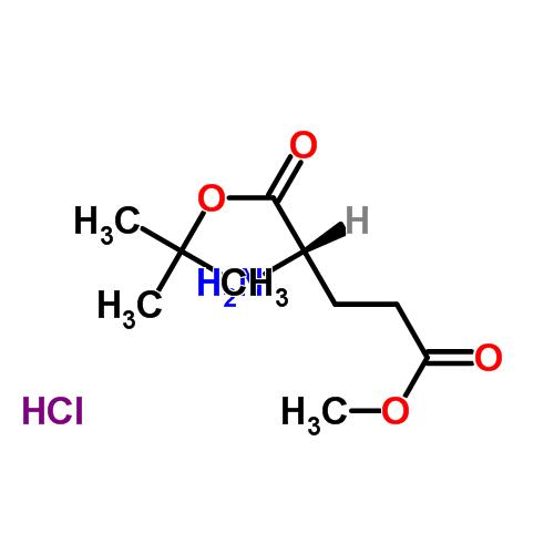 34582-33-7 5-Methyl 1-(2-methyl-2-propanyl) L-glutamate hydrochloride (1:1)