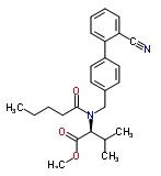 137863-90-2 N-[2'-cyano-biphenyl-4-yl methyl]-N-valeryl-(L)-valine methyl ester
