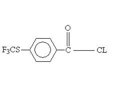 4-Trifluoromethylthiobenzoyl chloride