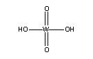Tungstic acid [H<sub>2</sub>O<sub>4</sub>W]