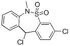 3,11-dichloro-6,11-dihydro-6-methyldibenzo[c,f][1,2]thiazepine 5,5-dioxide