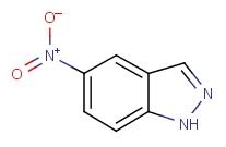5-Nitroindazole [C<sub>7</sub>H<sub>5</sub>N<sub>3</sub>O<sub>2</sub>]