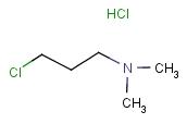 3-Dimethylaminopropylchloride hydrochloride [C<sub>5</sub>H<sub>13</sub>ClN]