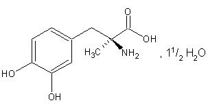 41372-08-1 L-Methyldopa sesquihydrate