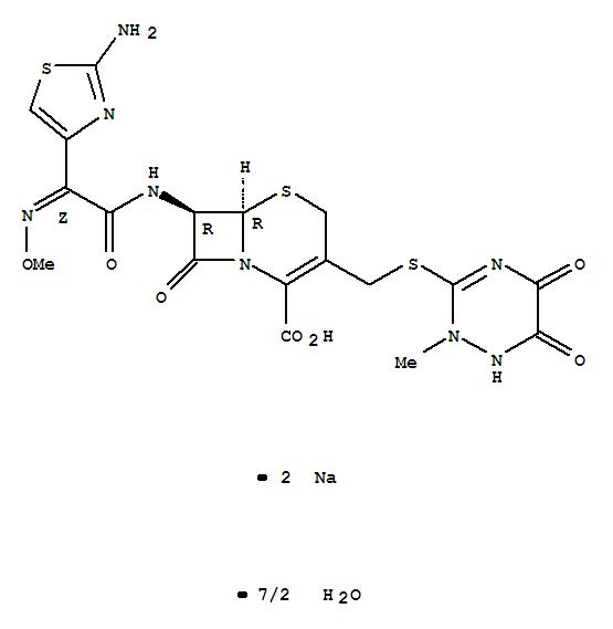 Ceftriaxone sodium sesquaterhydrate