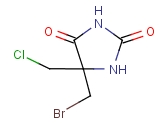 Bromochloro-5,5-dimethylimidazolidine-2,4-dione