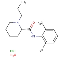 132112-35-7 Ropivacaine hydrochloride hydrate