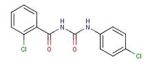 1-(2-氯苯甲酰基)-3-(4-氯苯基)脲 57160-47-1