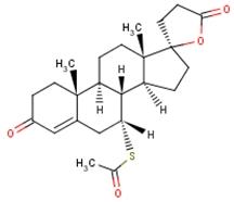 Spironolactone [C<sub>24</sub>H<sub>32</sub>O<sub>4</sub>S]