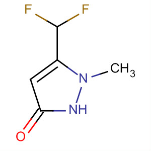 5-(difluoromethyl)-1-methyl-1H-pyrazol-3-ol