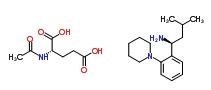 219921-94-5 (S)-3-Methyl-1-(2-(1-piperidinyl)phenyl)butylamine, N-acetyl-glutarate