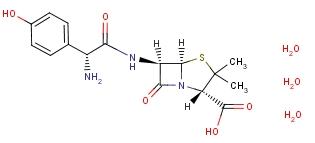 Amoxicillin trihydrate [C<sub>16</sub>H<sub>19</sub>N<sub>3</sub>O<sub>5</sub>S]