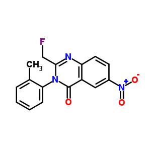 2-(fluoromethyl)-3-(2-methylphenyl)-6-nitroquinazolin-4(3H)-one
