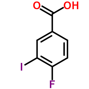 4-fluoro-3-iodobenzoic acid [403-18-9]