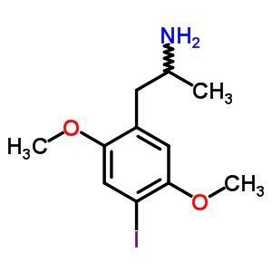 1-(4-iodo-2,5-dimethoxyphenyl)propan-2-amine [82830-53-3]