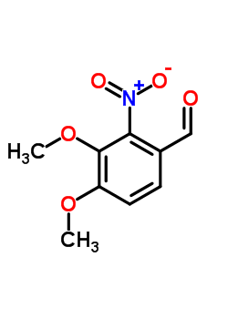 3,4-Dimethoxy-2-nitrobenzaldehyde
