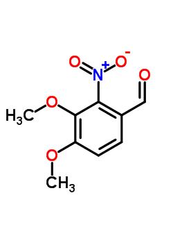 3,4-Dimethoxy-2-nitrobenzaldehyde