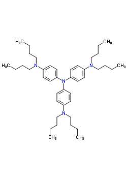 47862-55-5 N,N-dibutyl-N',N'-bis[4-(dibutylamino)phenyl]benzene-1,4-diamine