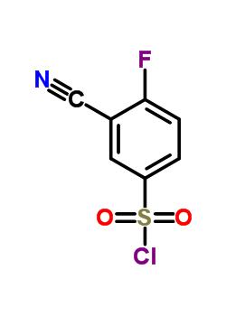 351003-23-1 3-Cyano-4-fluorobenzenesulphonyl chloride