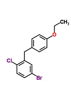 461432-23-5 5-bromo-2-chloro-4'-ethoxydiphenylmethane