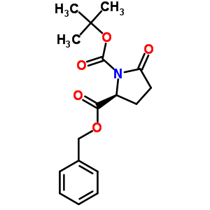 113400-36-5 2-benzyl 1-tert-butyl (2S)-5-oxopyrrolidine-1,2-dicarboxylate