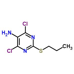 145783-15-9 4,6-dichloro-2-(propylsulfanyl)pyrimidin-5-amine