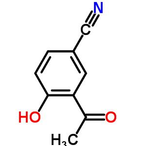 3-acetyl-4-hydroxybenzonitrile