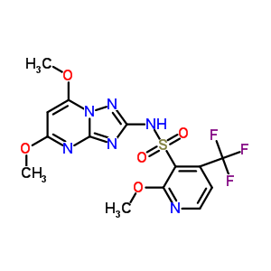422556-08-9 N-(5,7-dimethoxy[1,2,4]triazolo[1,5-a]pyrimidin-2-yl)-2-methoxy-4-(trifluoromethyl)pyridine-3-sulfonamide