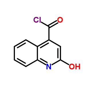 2 Hydroxyquinoline 4 Carbonyl Chloride