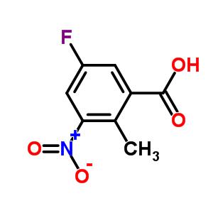 5-fluoro-2-methyl-3-nitrobenzoic acid