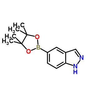 5-(4,4,5,5-tetramethyl-1,3,2-dioxaborolan-2-yl)-1H-indazole