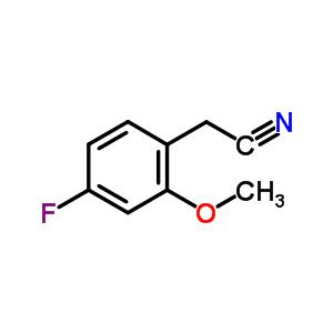 (4-fluoro-2-methoxyphenyl)acetonitrile