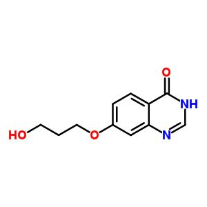 7-(3-hydroxypropoxy)quinazolin-4(3H)-one
