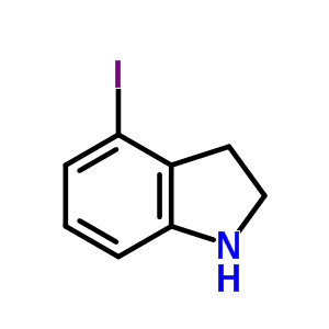 4-iodo-2,3-dihydro-1H-indole [62108-16-1]
