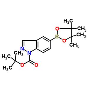 tert-butyl 5-(4,4,5,5-tetramethyl-1,3,2-dioxaborolan-2-yl)-1H-indazole-1-carboxylate
