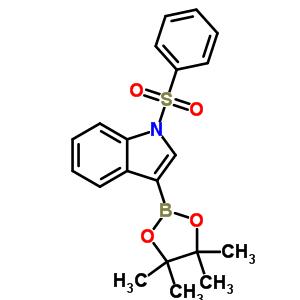 870717-93-4 1-(phenylsulfonyl)-3-(4,4,5,5-tetramethyl-1,3,2-dioxaborolan-2-yl)-1H-indole