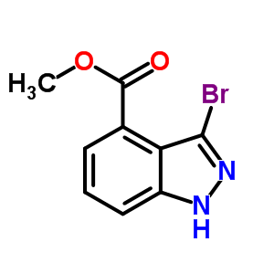 Methyl 3-bromo-1H-indazole-4-carboxylate