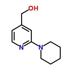 (2-piperidin-1-ylpyridin-4-yl)methanol