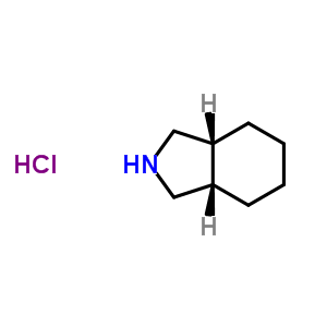 161829-92-1 (3aR,7aS)-octahydro-1H-isoindole hydrochloride (1:1)