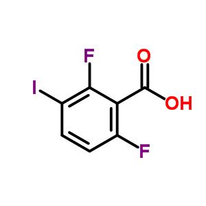 229178-74-9 2,6-difluoro-3-iodo-benzoic acid
