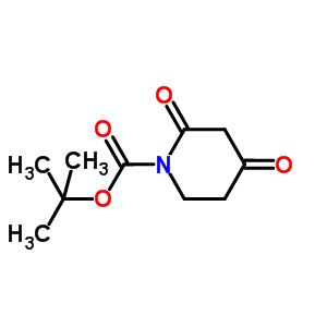 tert-butyl 2,4-dioxopiperidine-1-carboxylate