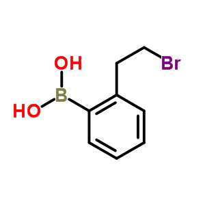 [2-(2-bromoethyl)phenyl]boronic acid