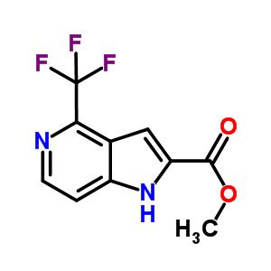 methyl 4-(trifluoromethyl)-1H-pyrrolo[3,2-c]pyridine-2-carboxylate