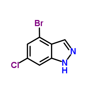 885519-03-9 4-Bromo-6-chloro-1H-indazole