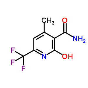 2-hydroxy-4-methyl-6-(trifluoromethyl)pyridine-3-carboxamide