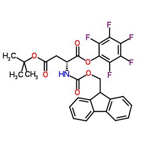 O4-tert-butyl O1-(2,3,4,5,6-pentafluorophenyl) (2R)-2-(9H-fluoren-9-ylmethoxycarbonylamino)butanedioate