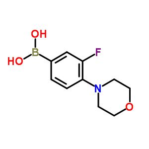 279262-09-8 (3-fluoro-4-morpholino-phenyl)boronic acid